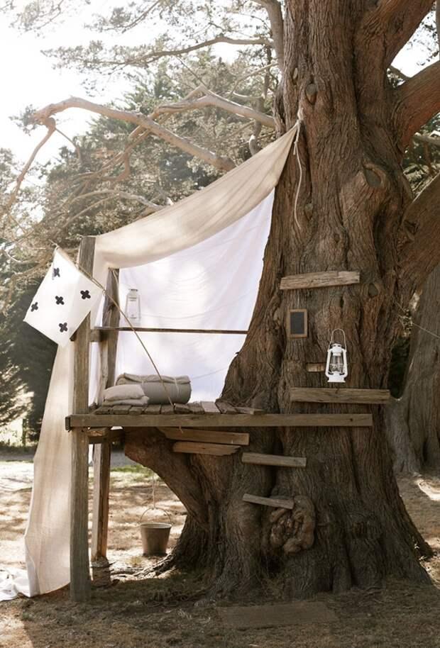 20 креативных идей, которые превратят ваш дворик в волшебное убежище