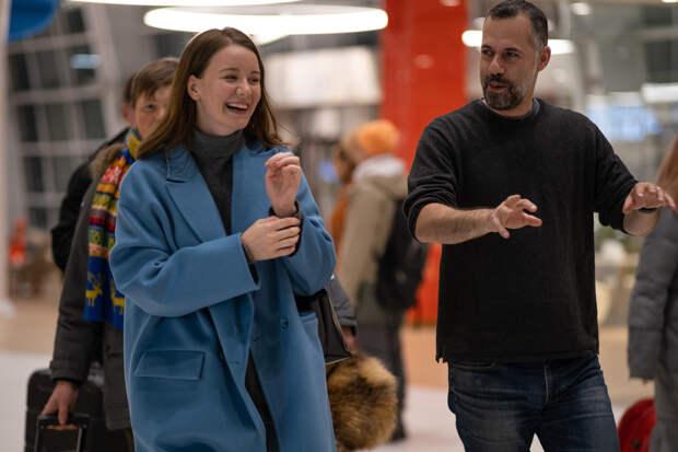 Прости меня, моя любовь: репортаж со съемок «Джетлага» с Ириной Старшенбаум и Филиппом Авдеевым