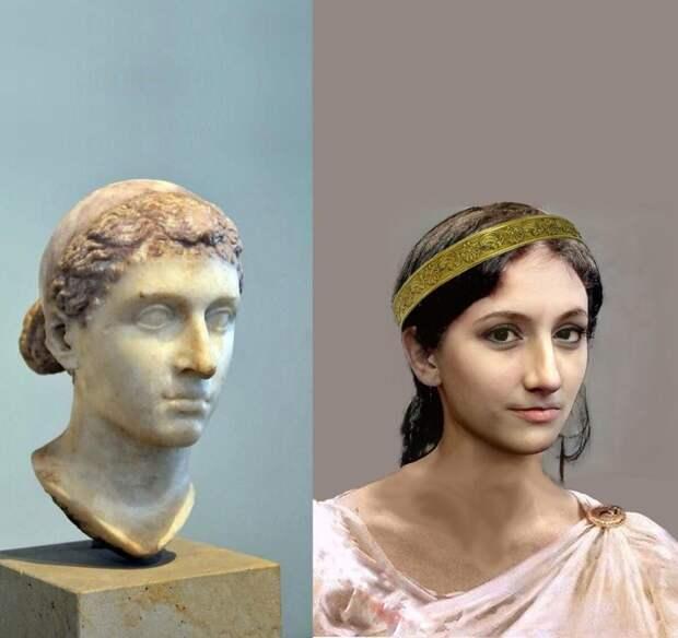 Косплей внешности Клеопатры
