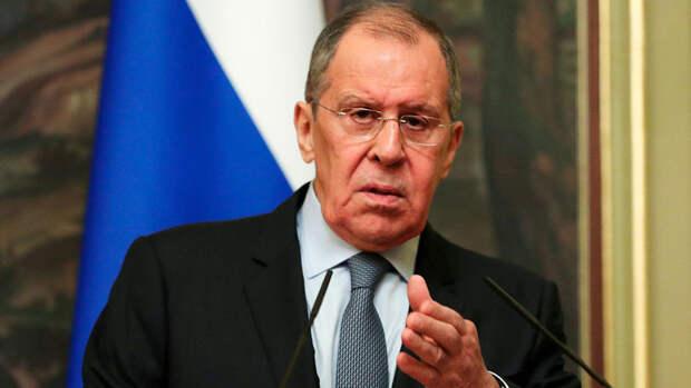 Лавров заявил, что Москва не может не отвечать на враждебные действия Брюсселя
