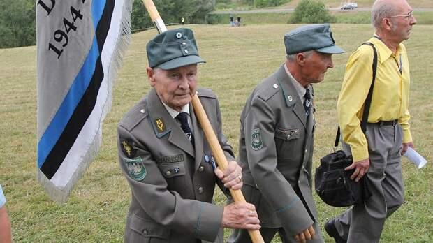 Слет ветеранов СС прошел в Эстонии