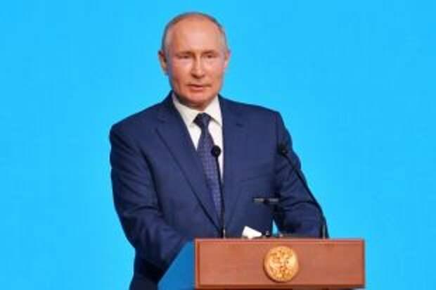 Путин: отсутствие на Олимпиаде флага РФ не влияет на выступления россиян