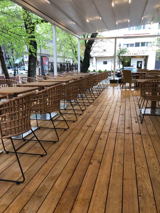 Летняя веранда в ресторан Аист. Как сделать летнюю веранду?