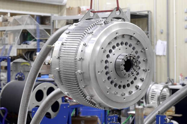 Рис. 1а. ВТСП-двигатель