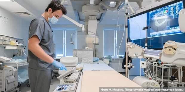 Система здравоохранения выдержала экстремальную нагрузку пандемии – Собянин.Фото: М. Мишин mos.ru