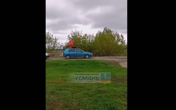 Участники автопробега в честь Дня Победы попали в ДТП в Липецкой области