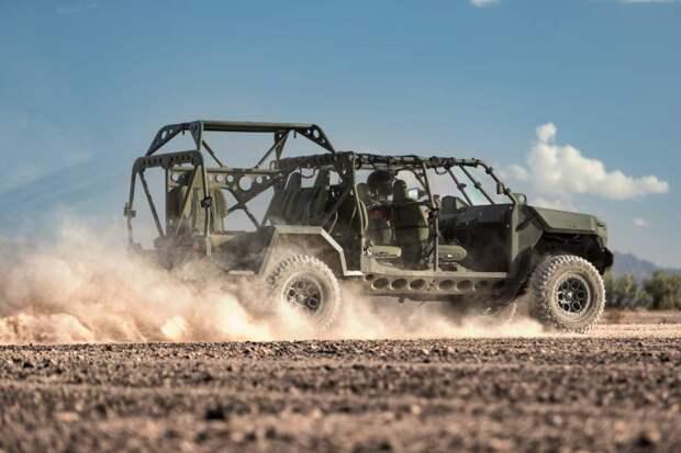 Программа eLRV: электромобиль для разведки армии США
