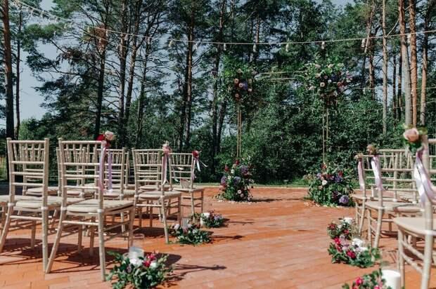 Лета чистый изумруд! Летняя свадьба загородом