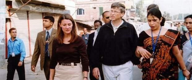 WSJ рассказала о возможной причине развода Билла и Мелинды Гейтс