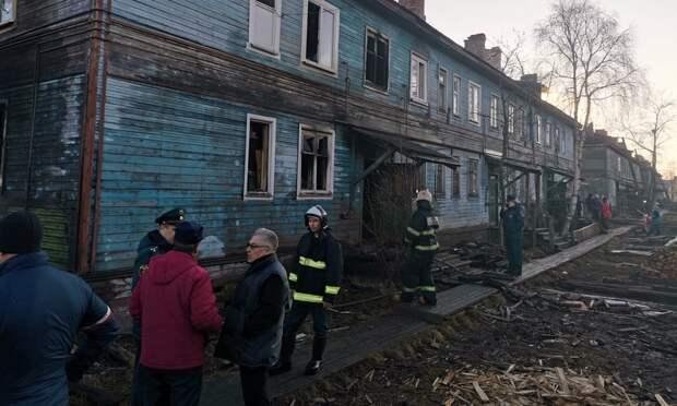 Под Новодвинском в пожаре погибли мужчина, женщина и двухлетний малыш