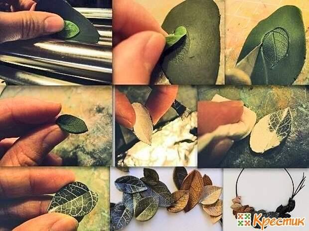 Керамическая флористика из полимерной глины и холодного фарфора