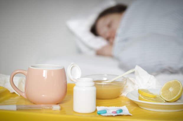 Первая помощь при вирусных заболеваниях