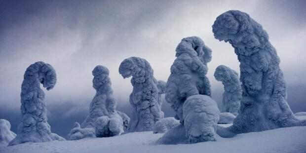 Ледяные гиганты в Финляндии.Фотограф: Игнасио Паласиос