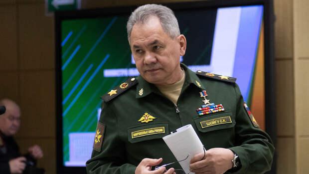 Шойгу отчитался перед Путиным о ходе подготовки к параду Победы в Москве