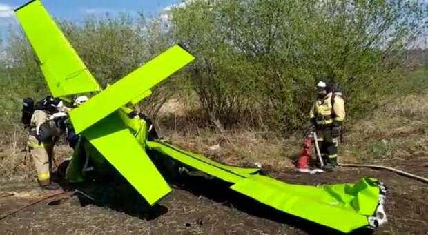 Угонщики самолета разбились в Татарстане