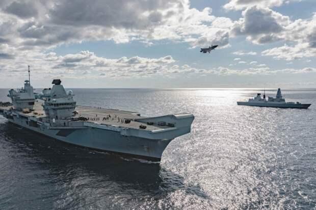Британский авианосец подошёл к российским военным базам в Сирии на расстояние удара