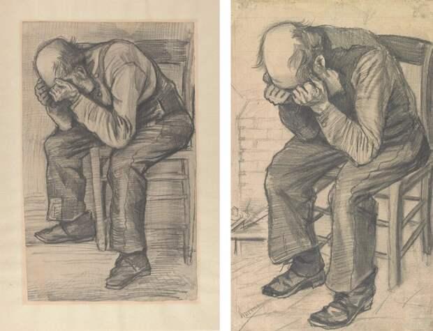 В Амстердаме эскиз картины, который хранился в частной коллекции, выставили в музее Ван Гога