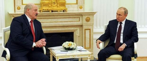 В Москве завершились четырехчасовые переговоры Путина и Лукашенко