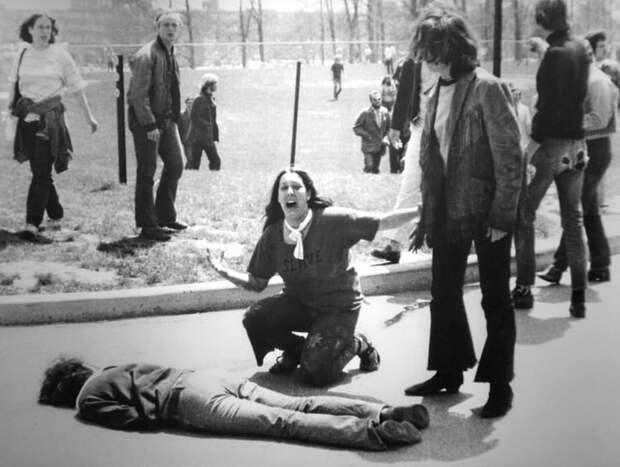 5. Расстрел в Кентском университете Вьетнам, война во вьетнаме, вьетнамская война, сша
