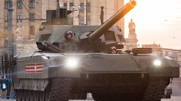 Раздался скрежет американских зубов: лучше русского танка «Армата» нет ничего
