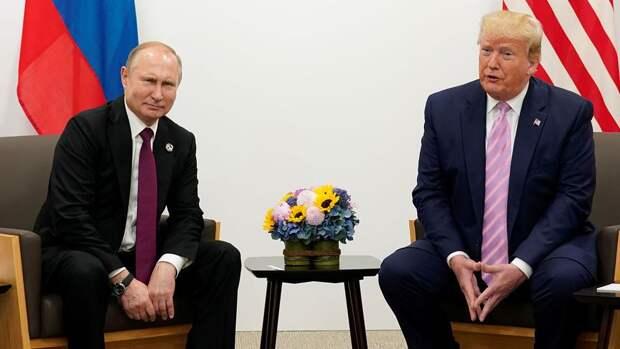 Трамп удивился критике за то, что он «ладит с Путиным»