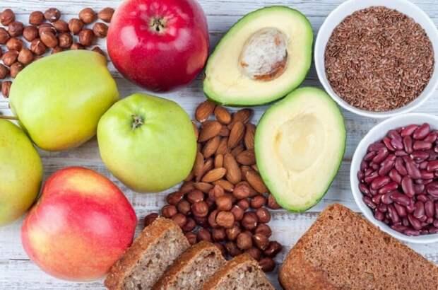 продукты, содержащие клетчатку