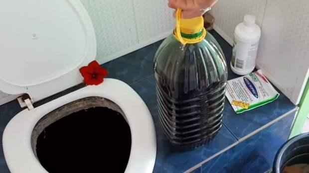 Как легко устранить запах в дачном туалете