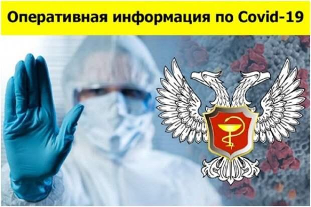 Сводка по COVID-19 в ДНР: 184 новых случая заболевания