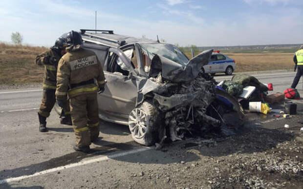 Пылающая встречка: лихач на Lexus убил троих