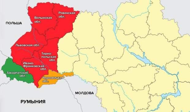 Поляки все жестче отжимают Западную Украину