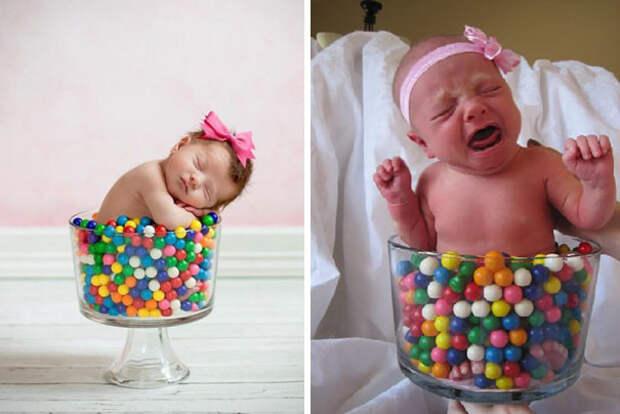 Малышка в драже: ожидание и... дети, фото, юмор