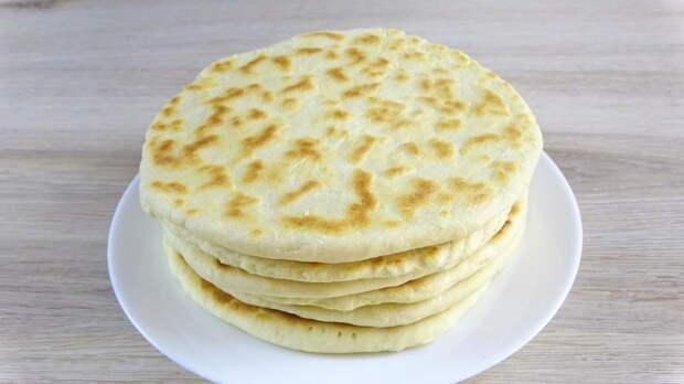 Фото к рецепту: Сливочные лепешки на сковороде