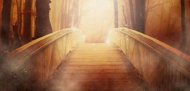Переехали мост в тумане и не обнаружили деревню на привычном месте