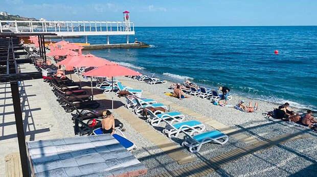 Инфраструктура Крыма готовится к лету – проверку прошли пляжи Большой Ялты