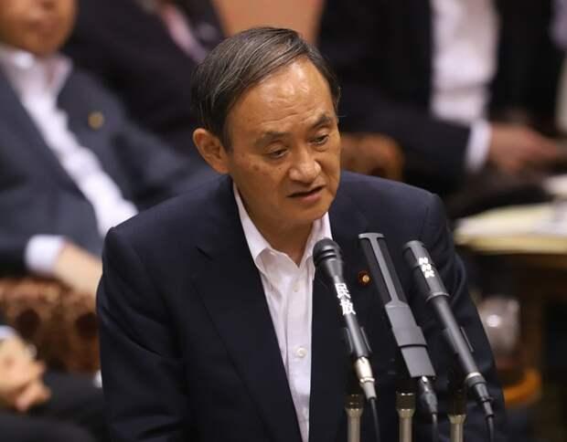 Суга: Позиция Японии по мирному договору остаётся неизменной
