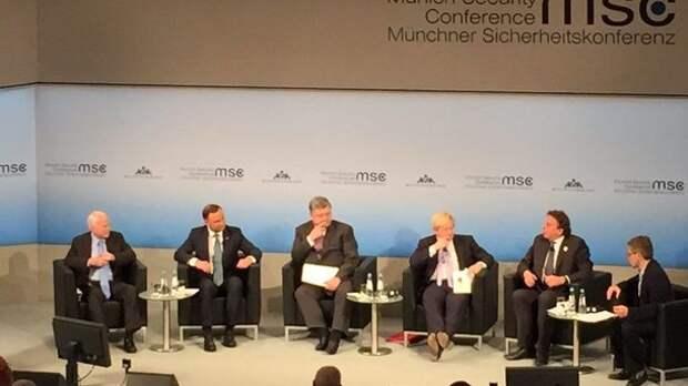 """""""Партнёры"""" изящно унизили Порошенко  на Мюнхенской  конференции"""