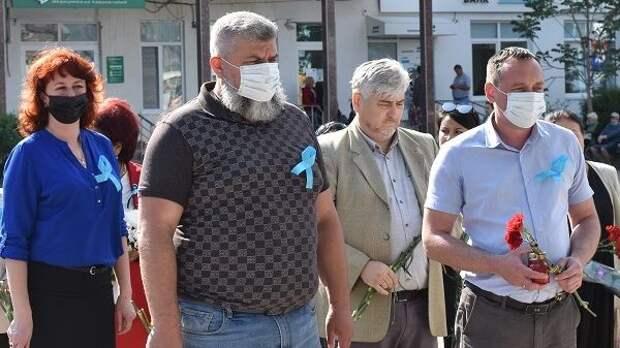Руководители Джанкойского района почтили память жертв депортации народов из Крыма
