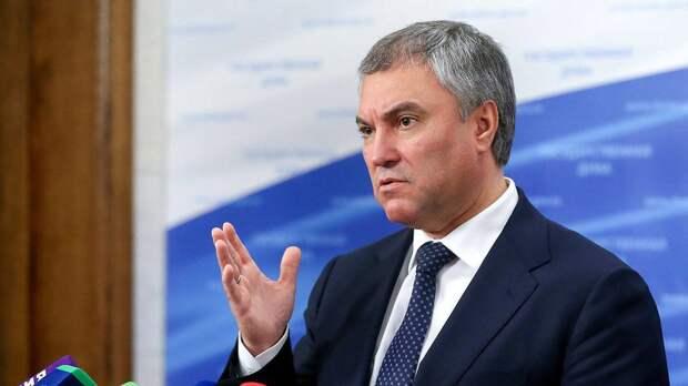 Володин после гибели ребенка призвал исключить Украину изСовета Европы