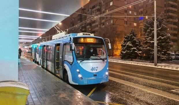 ВБелгороде закроют четыре троллейбусных маршрута
