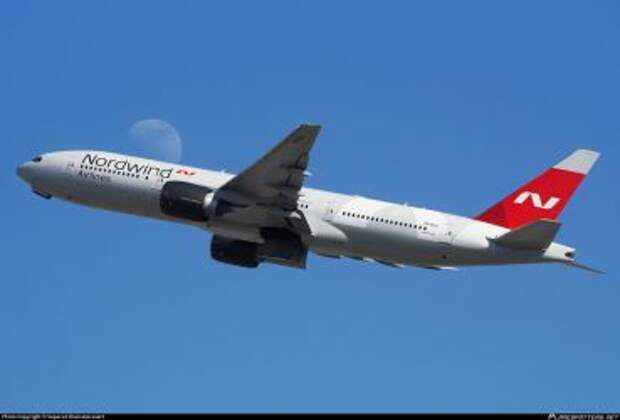 Boeing 777-2Q8ER авиакомпании Nordwind Airlines