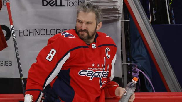 Овечкин вышел на третье место в НХЛ по очкам среди левых нападающих в плей-офф