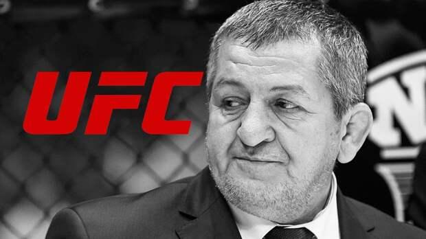 Дебютный бой Уланбекова в UFC отменен из-за смерти отца Хабиба Нурмагомедова