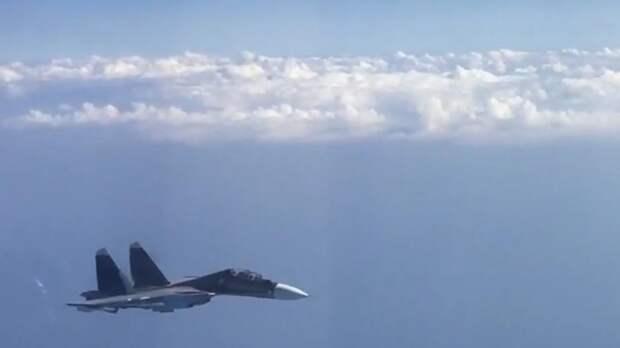 Российский истребитель перехватил два иностранных борта над Балтикой