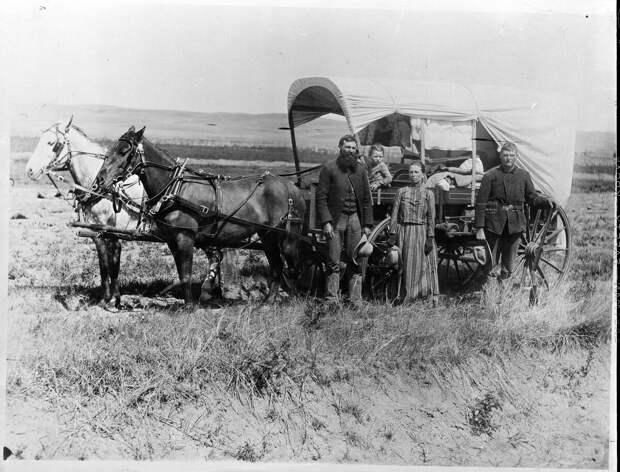 Переселенцы. 1866 г.