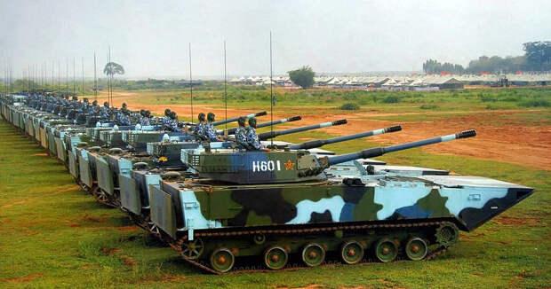 Китай наращивает военную мощь