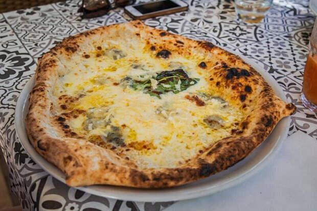 Итальянский обман. Пицца