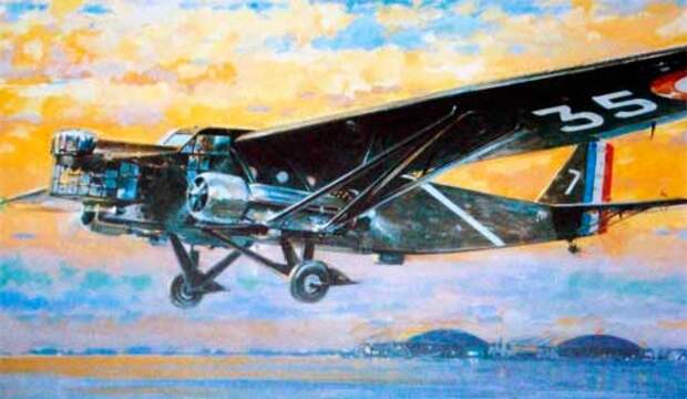 Самолет Франции