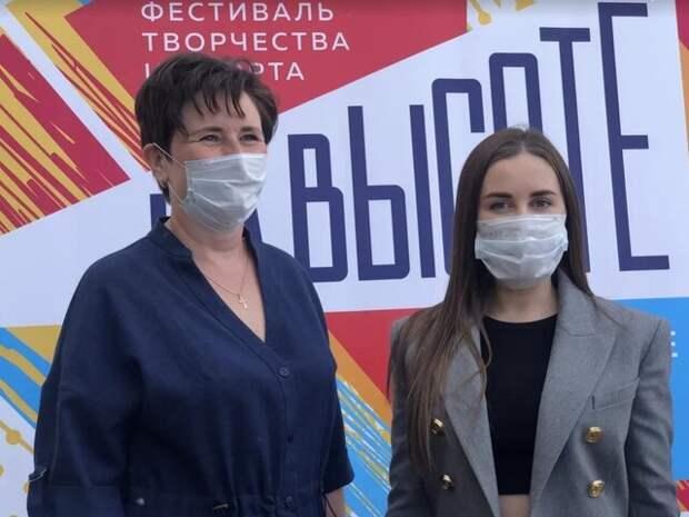 Юлия Михалкова и Светлана Разворотнева посетили мероприятие в поддержку детей и молодежи