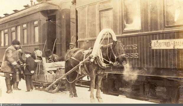 Поезд из Петрограда во Владивосток. 1914—1917 годы