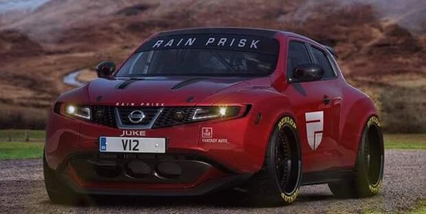 С двигателем V12: виртуальная реальность и озверевший Nissan Juke
